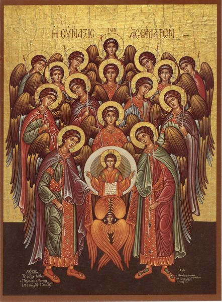 Image result for icon synaxis angels