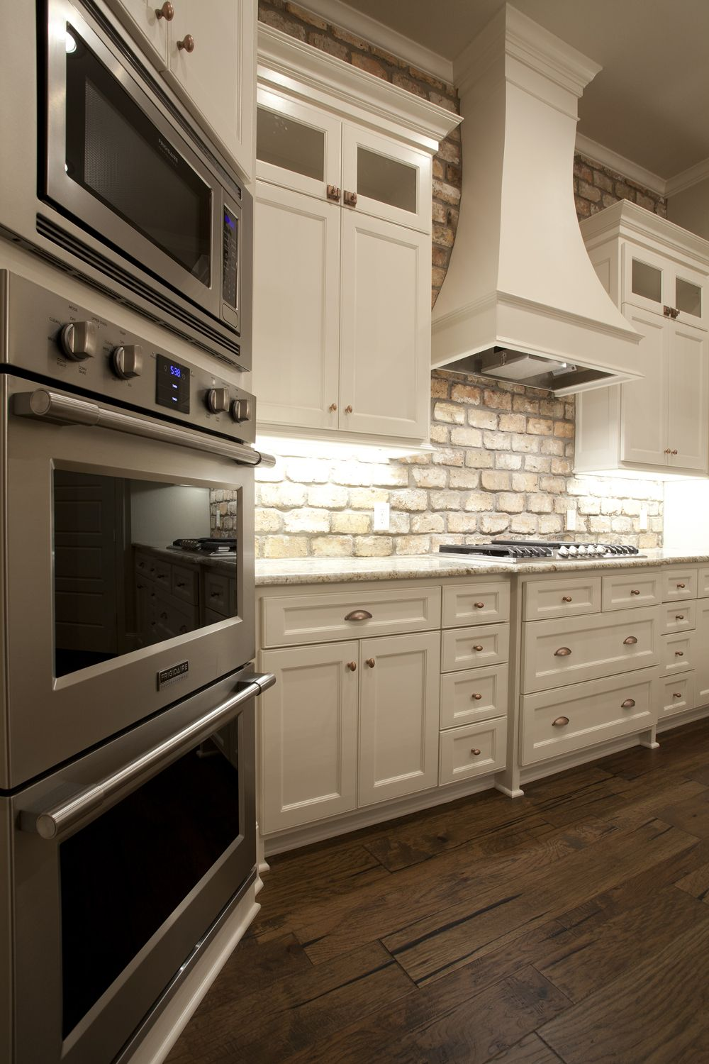Brick Backsplash The Perfect Farmhouse Kitchen For