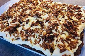 Blechkuchen Gebrannte Mandeln von Julie13 | Chefkoch #gebranntemandeln