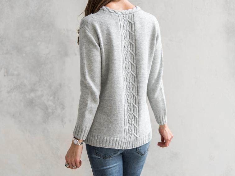 756ecc77598442 Wanderer Tunic Knitting Kit
