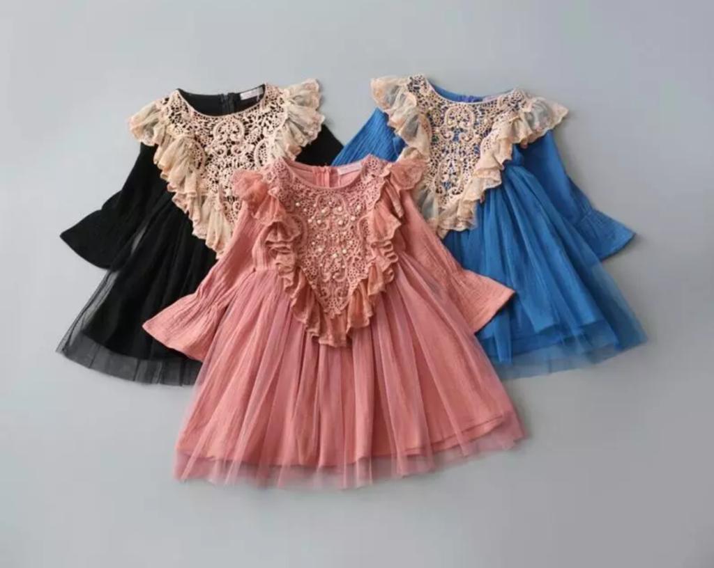 Amelia long sleeve dress
