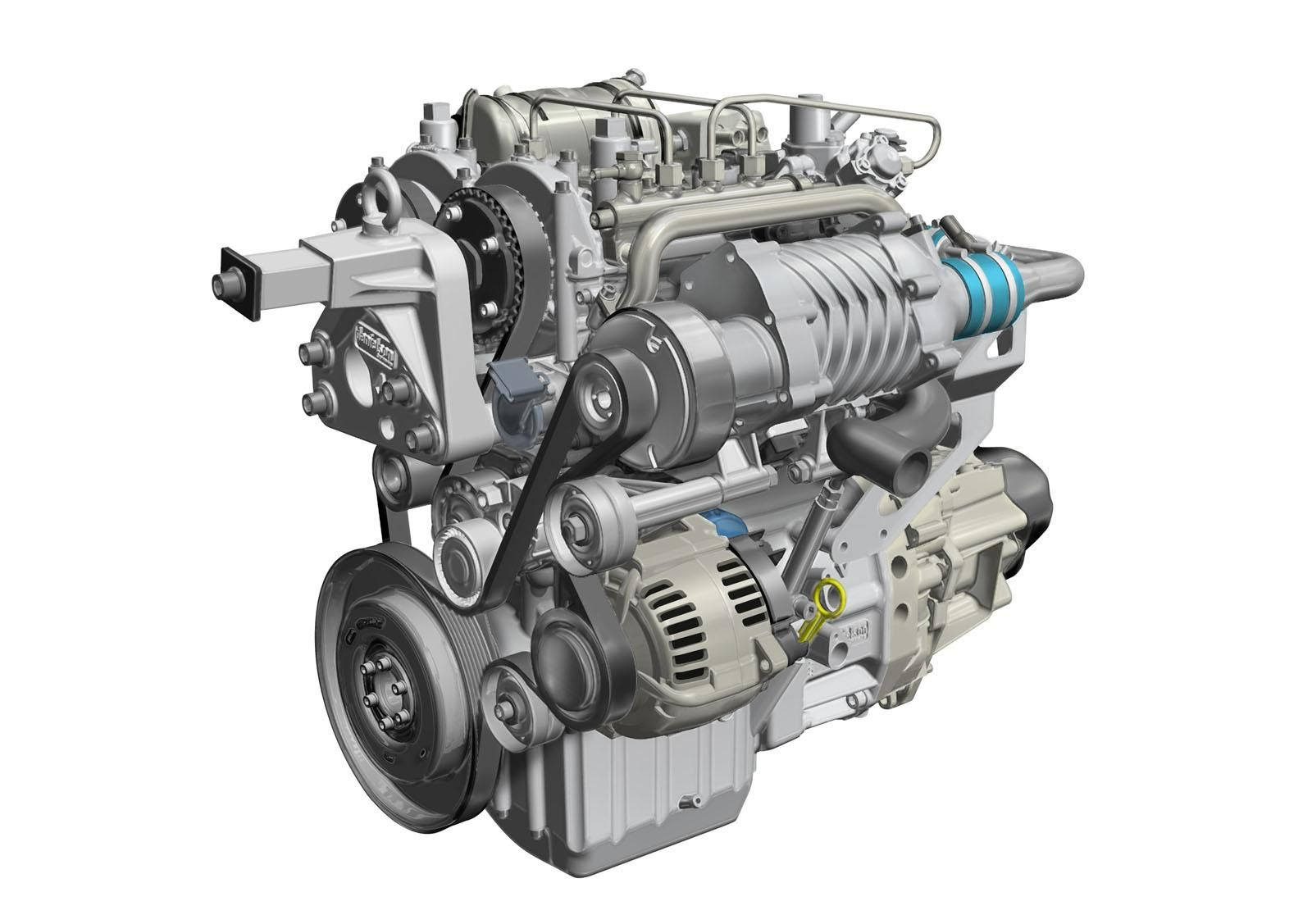 Renault development 730cc 2 cylinder 2 stroke diesel turbo charged and supercharged http