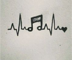 Photo of #Heartbeat music #Pictures #Pencil #Simple heartbeat music – drawings … …