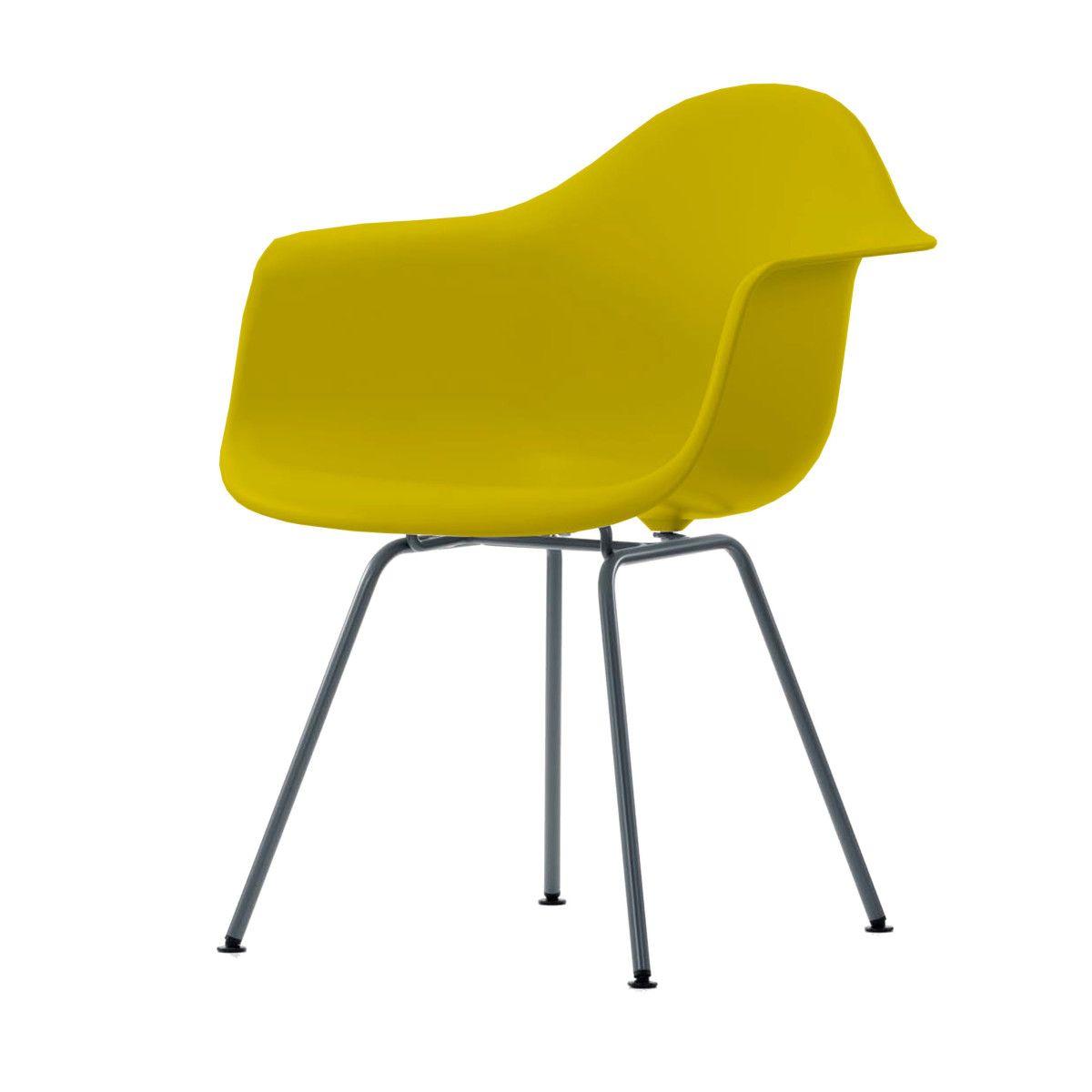 Eames Plastic Armchair Stuhl DAX basic dark mit