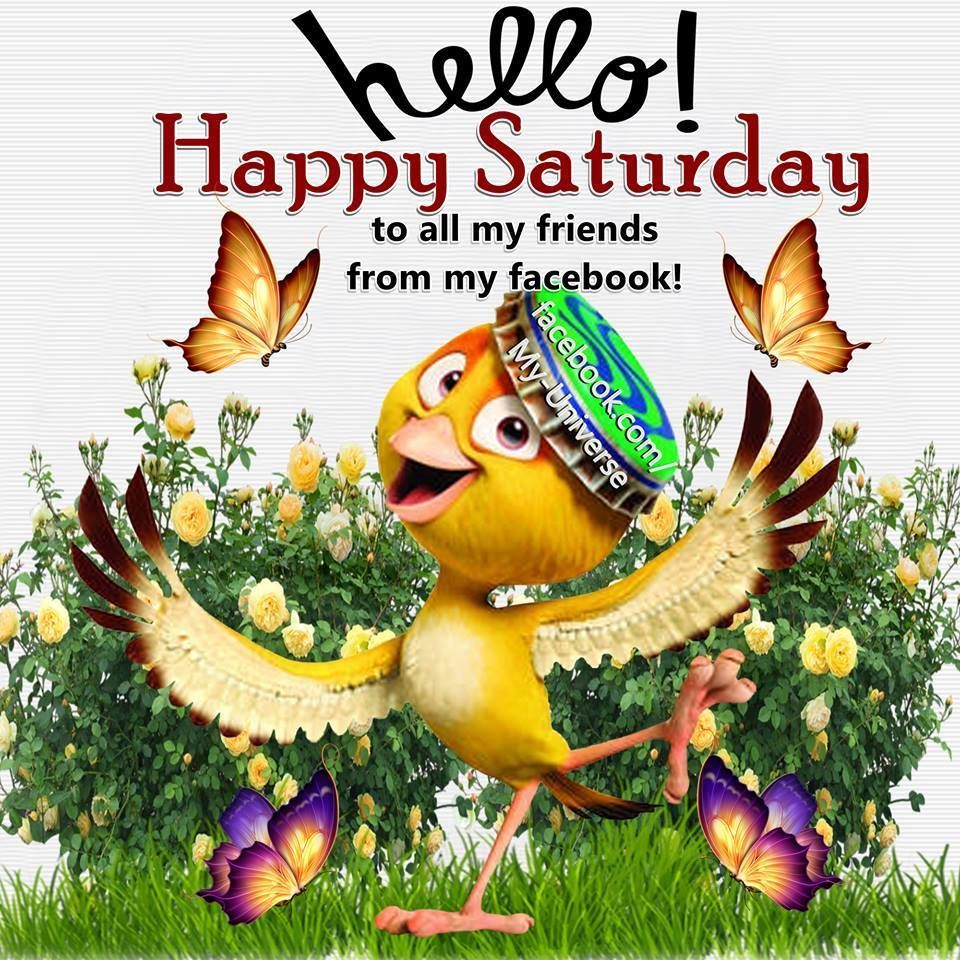 Hello Happy Saturday Happy Saturday Saturday Greetings Days Of The Week Quotes Saturday Quotes Of Saturday Quotes Happy Saturday Pictures Saturday Quotes Funny
