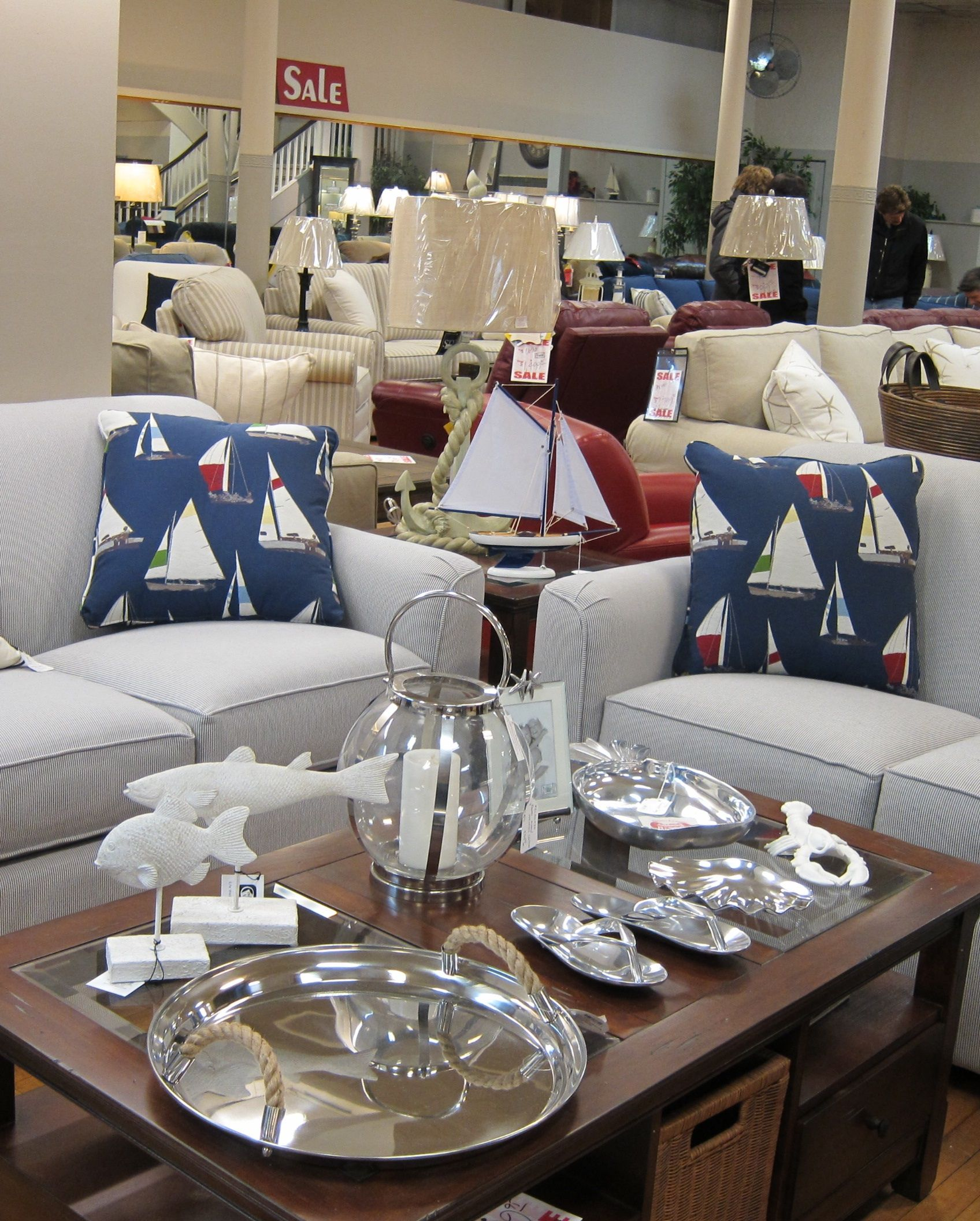Furniture With Beach And Nautical Themes Can Be Found At Benu0027s Furniture On  Thames Street,