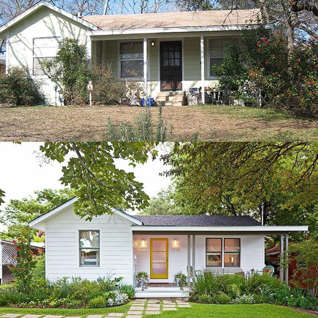 Before And After At My First Home On Werner Avenue (2007