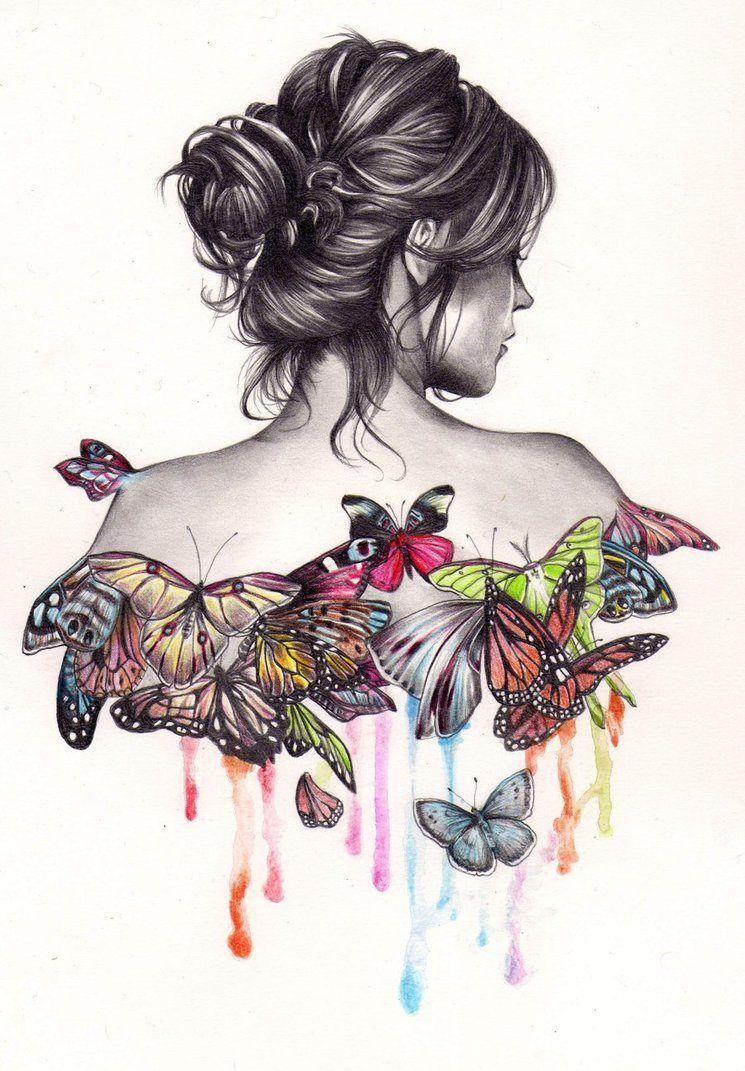 Dibujo Artistico Buscar Con Google Produccion Artistica Como Dibujar Cosas Arte De Mariposa