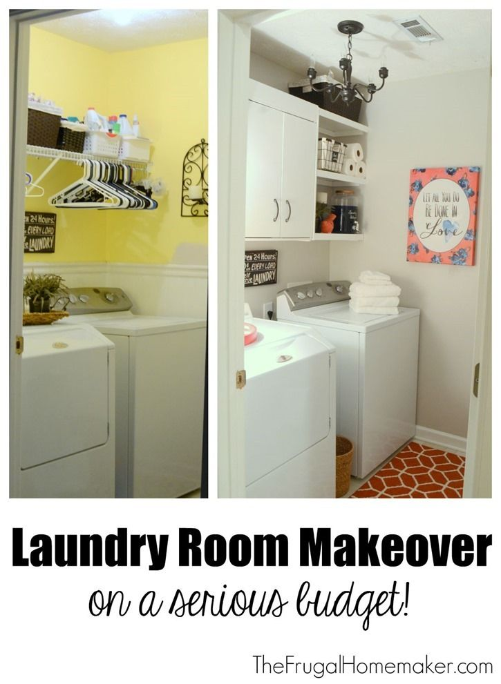 popular items laundry room decor. Layndry Room Makeover On A Serious Budget! Popular Items Laundry Decor
