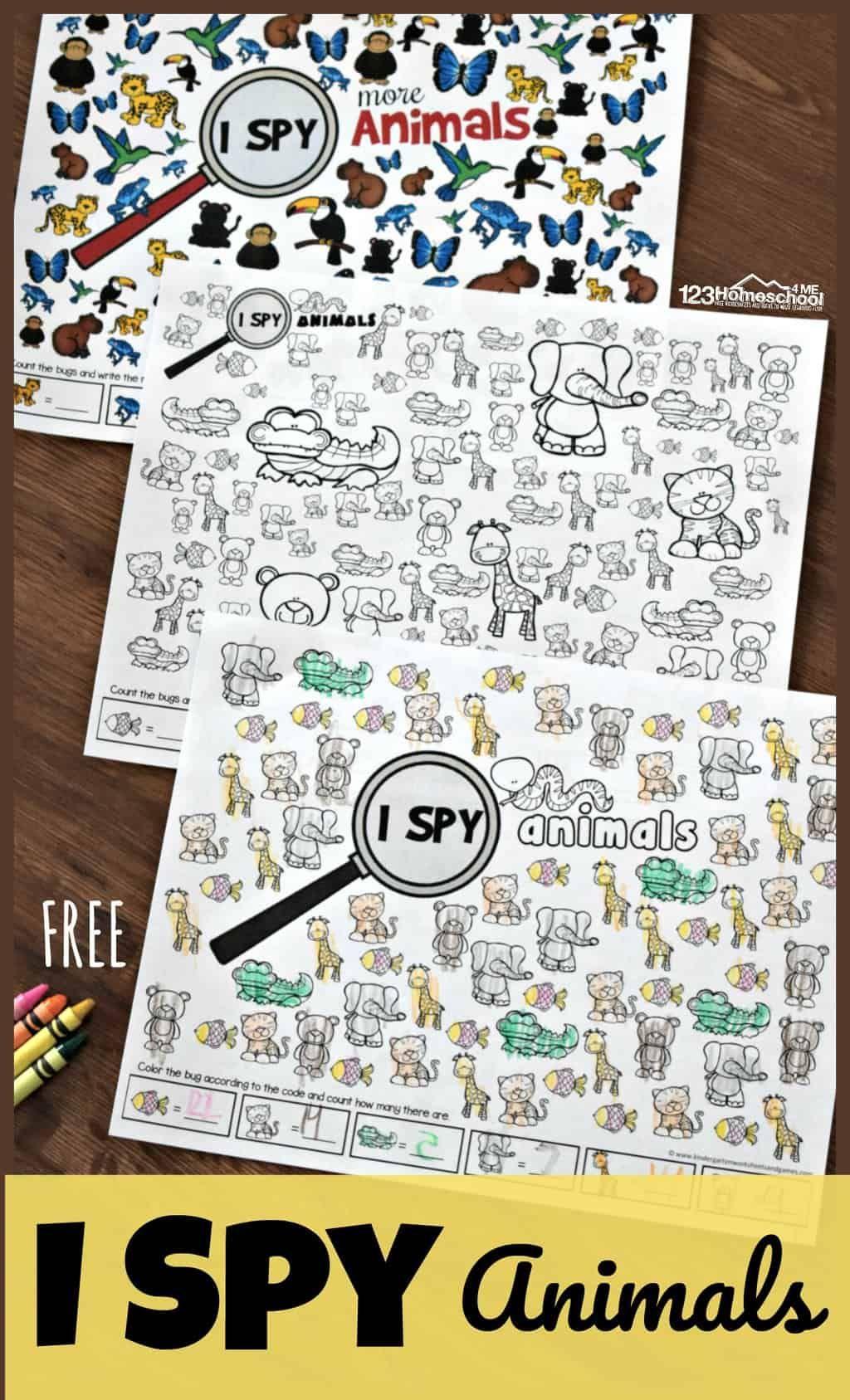 Free Animal I Spy