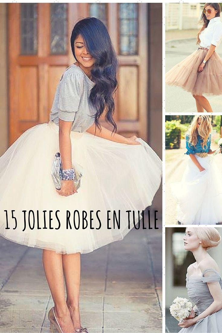 e8cab347c04 Ces jolies robes en tulle nous font rêver depuis l enfance. De vraies  princesses !