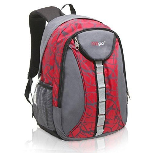 c62a48a1ed Student School Bookbag 18 Inch MGgear  Children Sports Backpack   Travel  Carryon