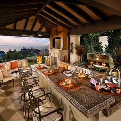 30 Fascinating Outdoor Kitchens Covered Outdoor Kitchens Outdoor Kitchen Patio Patio Kitchen