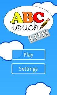 El alfabeto con ABC Touch Lite. Lectoescritura para Ed. Infantil