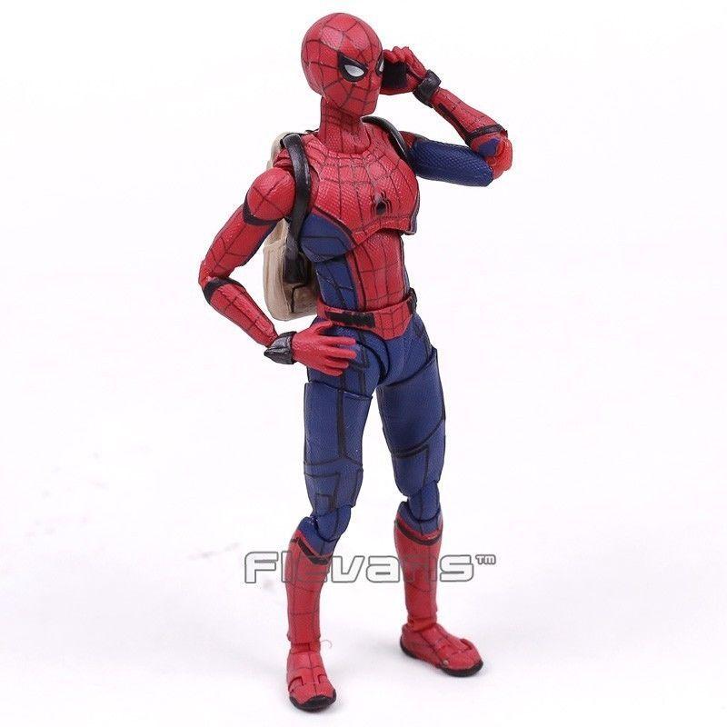 Sh Figuarts Hombre Ara A Homecoming Spiderman Pvc Spider Man