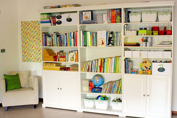 20 Kids Playroom Design Ideas: Playroom Bookshelves Design ~ prsarahevans.com Kids Room Inspiration