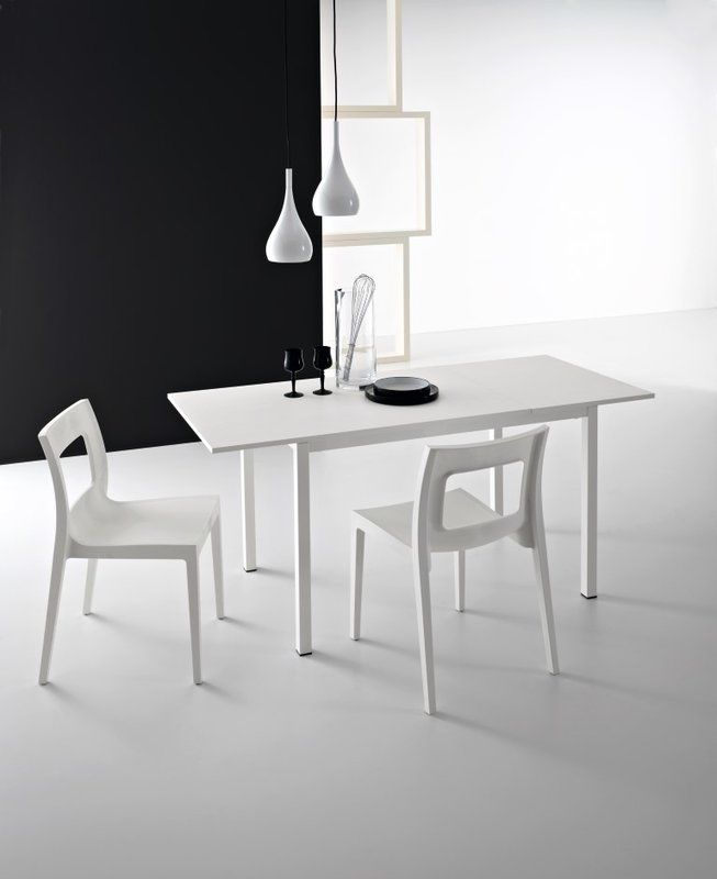 Chic Extendable Dining Table Extendable dining table, Tables and