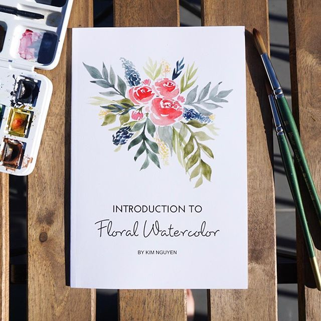 My Watercolor Booklets Have Arrived All Of My Floral