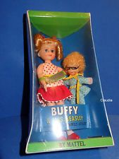 Vintage Barbie Tutti BUFFY & MRS. BEASLEY #3577 NRFB MIB MINT RARE No Paling !