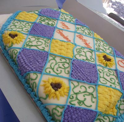 Quilt Cake Quilted cake