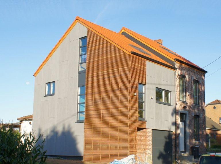 Extension d\u0027une habitation à Ligny - Bureau d\u0027Architectes Desmedt - Montage D Un Garage En Bois