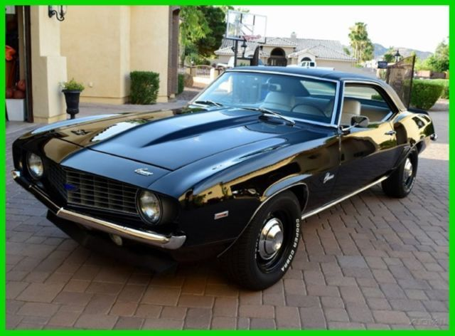 1969 Chevrolet Copo Camaro Tuxedo Black 427 425hp 69 Chevy Used Clic For