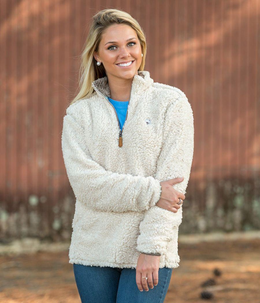 Southern Shirt Company Sherpa Pullover | Style | Pinterest ...