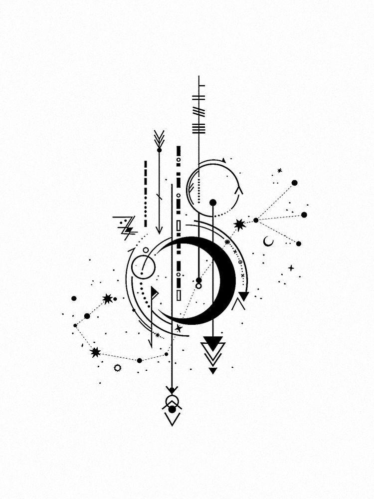 Scorpio Constellation Tattoo Designs Pinterest Constellation