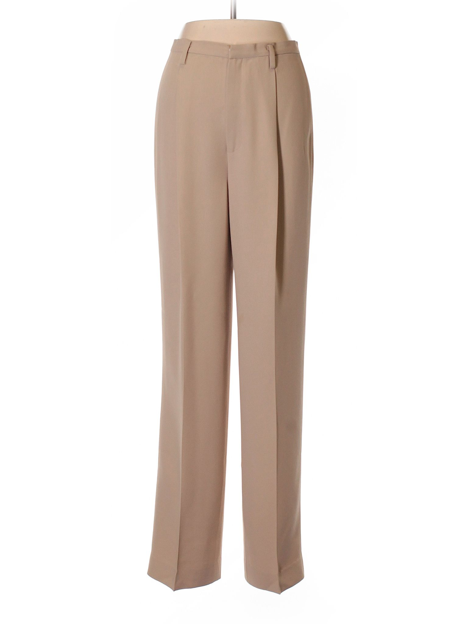 Linda Allard Ellen Tracy Dress Pants Size 2 00 Tan Women S Bottoms 39 99