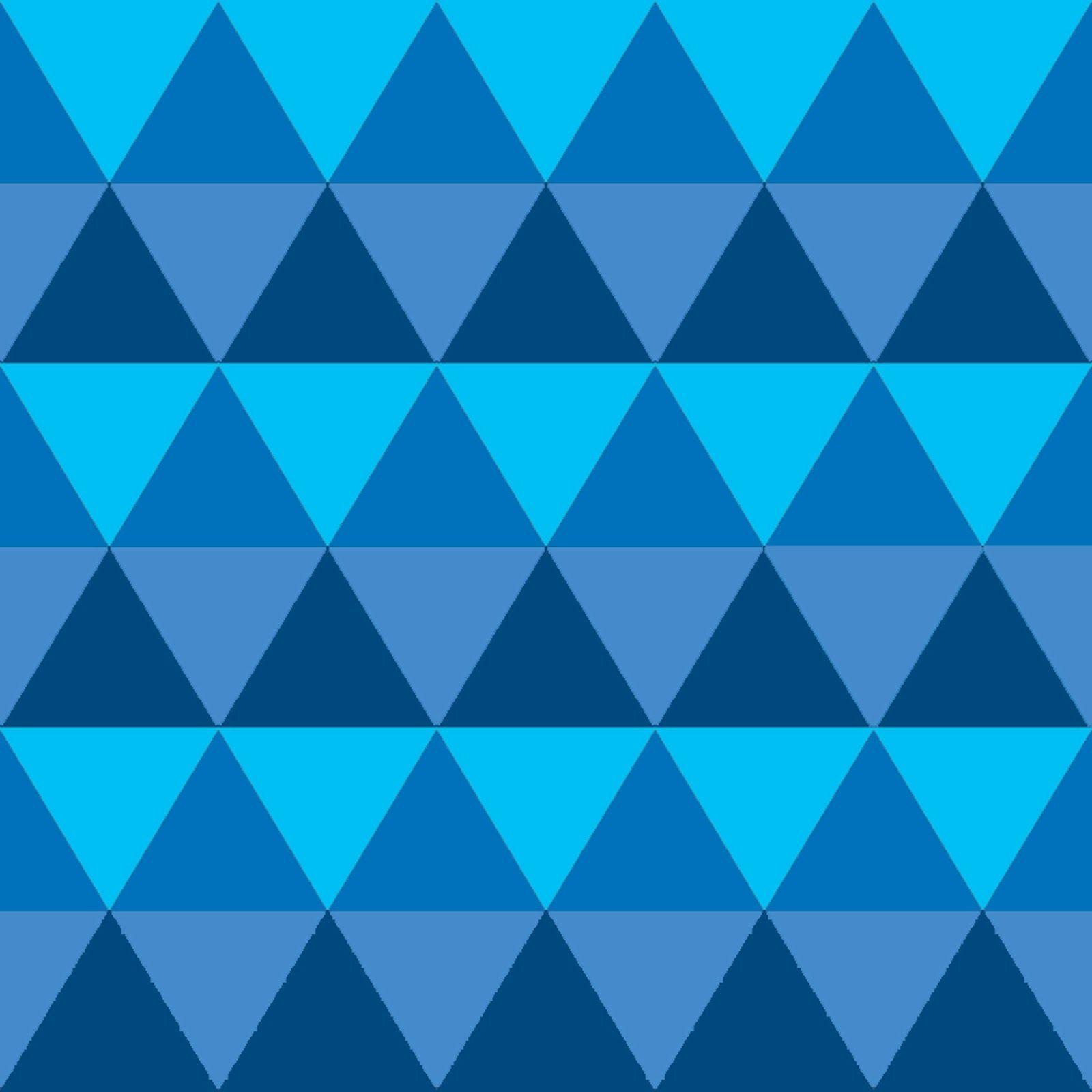 Blue Fabulous Geometric Triangle Freebie