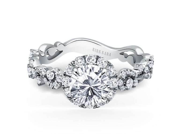 17 Popular Engagement Ring Trends 7 Scrollwork Settings
