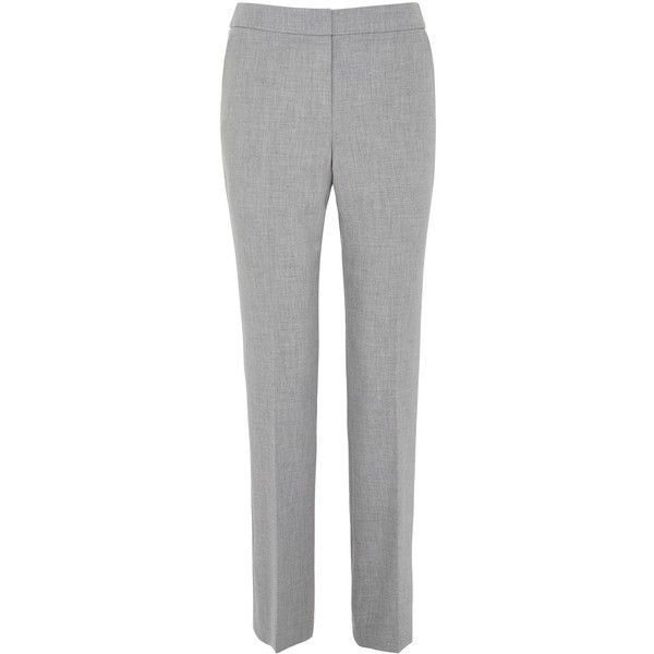 Austin Reed Panama Weave Straight Leg Trousers 94 Liked On Polyvore Featuring Pants Grey Sale Austin Reed Lightweight Pants Clothes Design Austin Reed