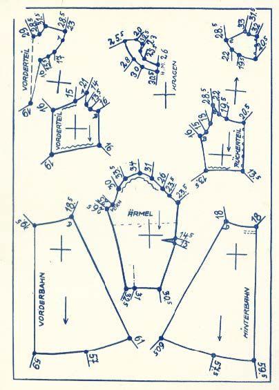 Lutterloh 1938 Book Of Cards -  Models Diagram Card 45
