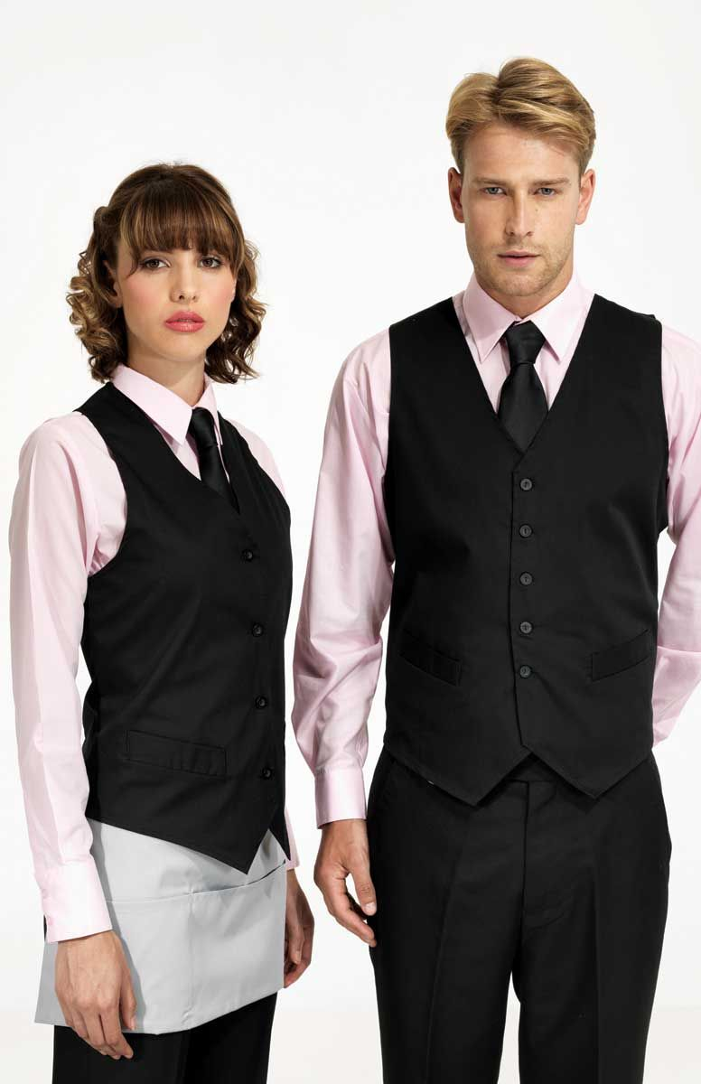 Ladies And Mens Waistcoats In Four Colours And Two Styles Uniform