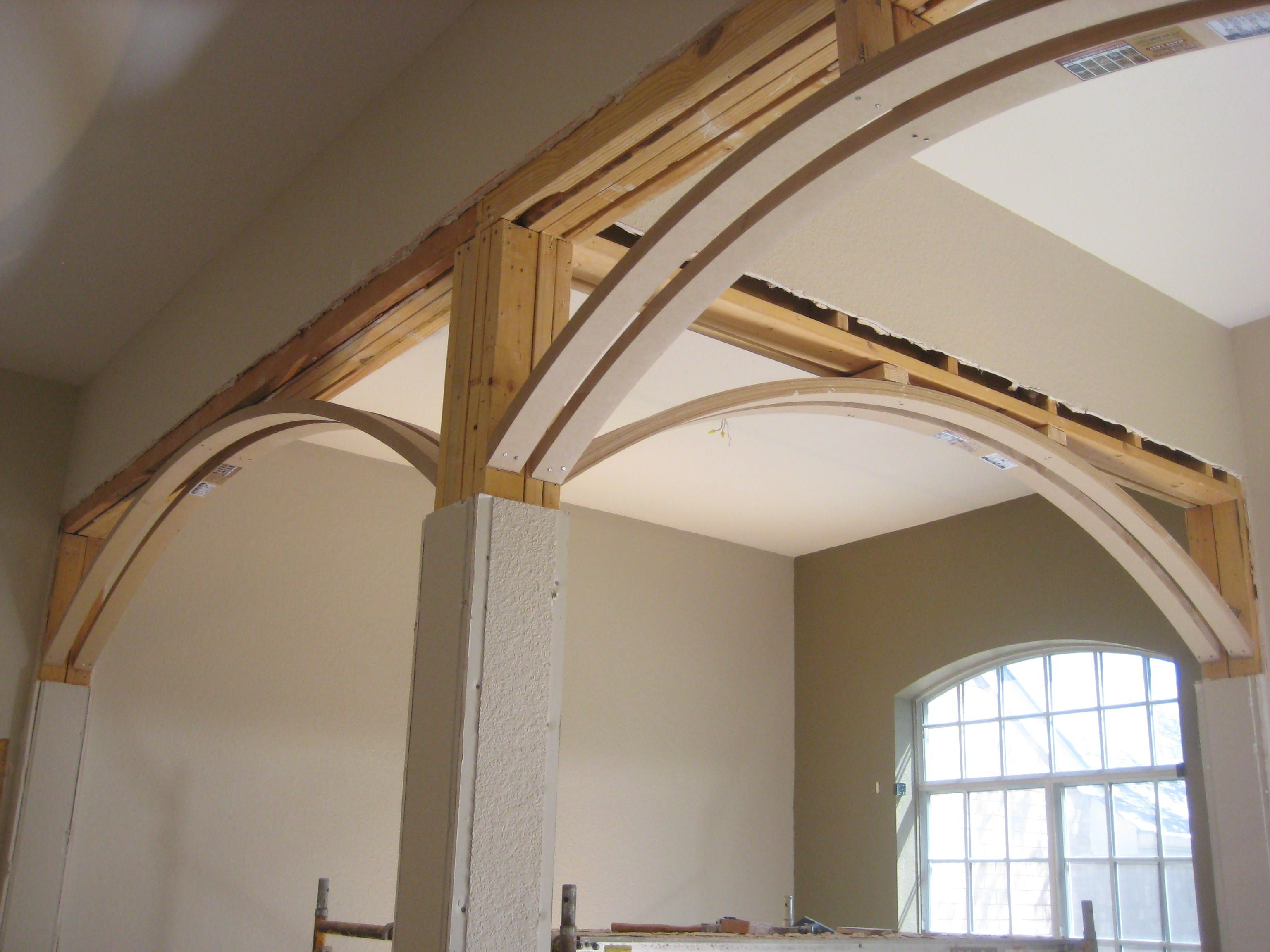 Archways Ceilings Made Easy Acme Arches In Home Renovation