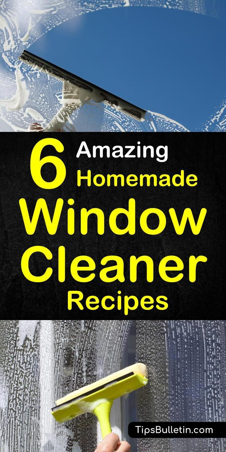 Make Your Own Streak Free Homemade Window And Glass
