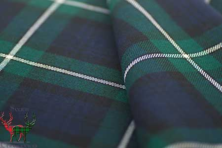 Forbes Tartan Material and Fabric Swatches | Scots Connection