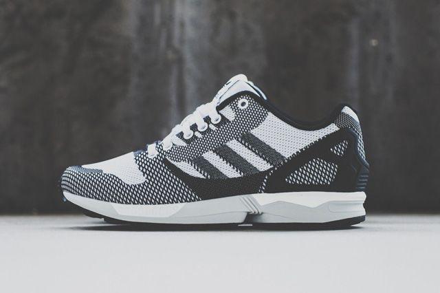best authentic 64c71 57d92 adidas-zx-flux-weave-white-black-1