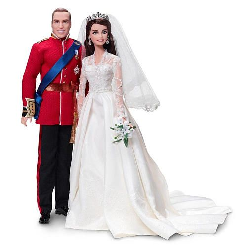 Barbie Collector Gold Label Collection William and Catherine Royalty Barbie Dolls - FAO Schwarz®
