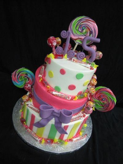 Candyland Birthday By xscurlsandcakes on CakeCentral.com