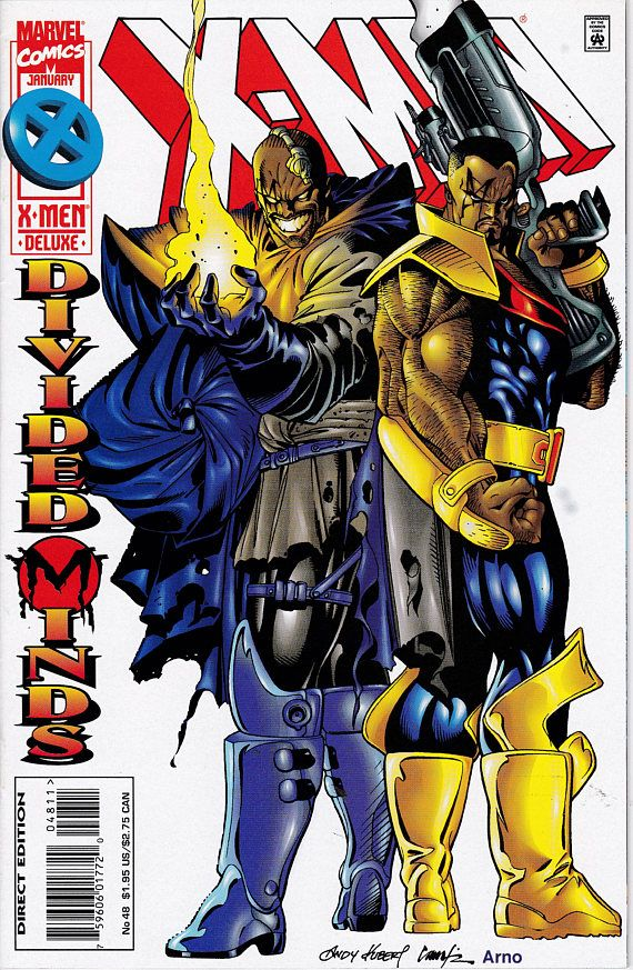 X Men 48 1991 1st Series January 1996 Marvel Comics Etsy Comics Marvel Comics X Men