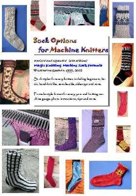 Lots Of Sock Patterns For Flat Bed Knitting Machine Sockop11 By Cady