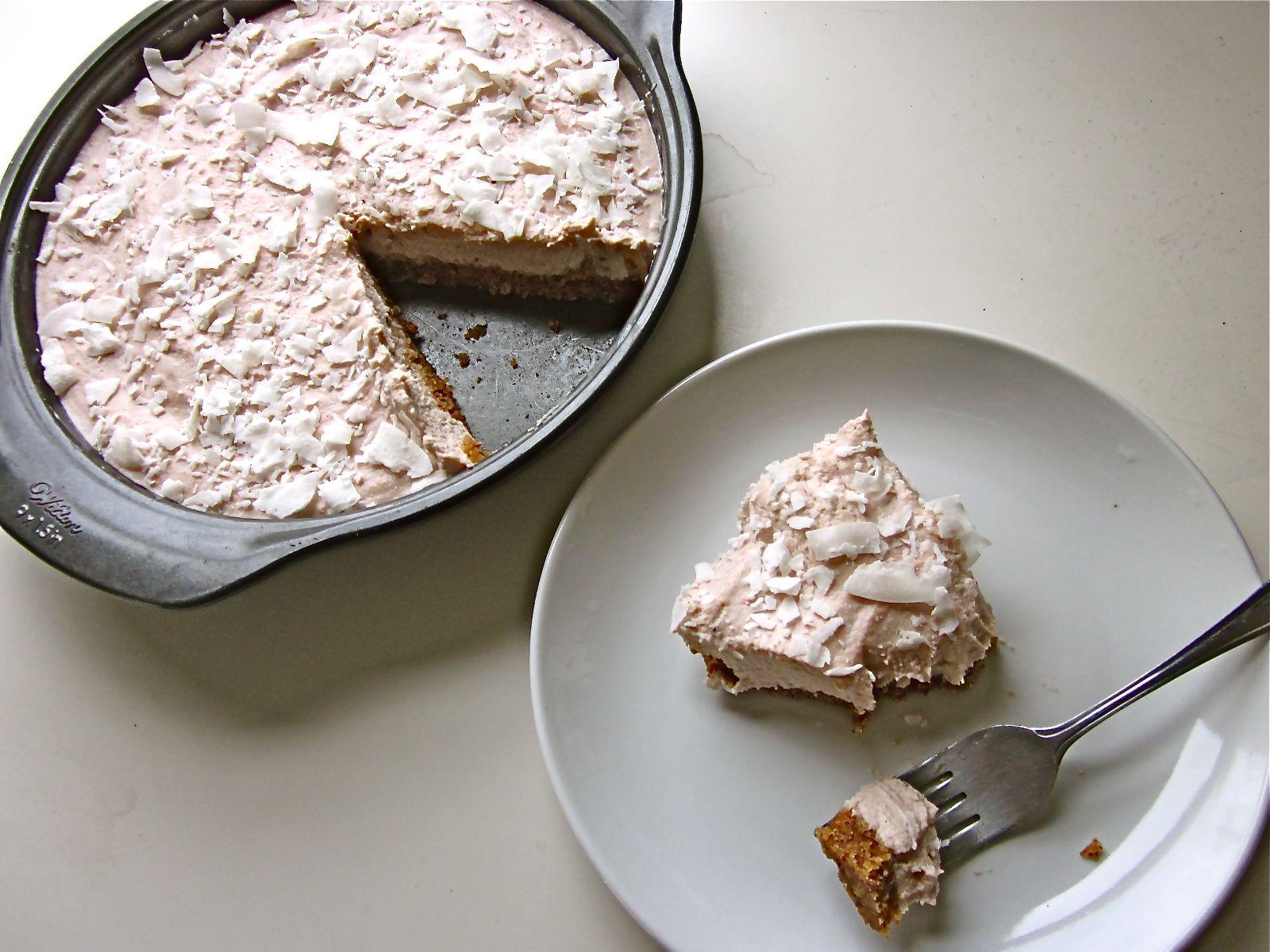 no bake strawberry lemon cheesecake