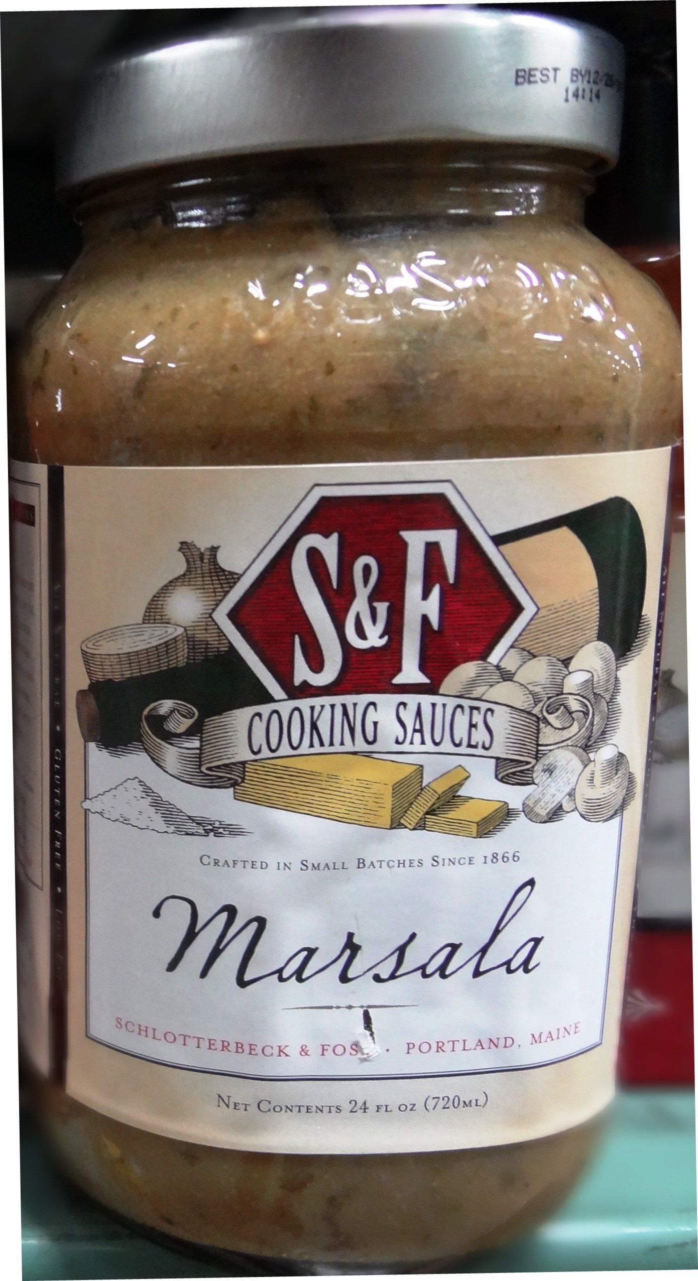 Buy direct from portland maine marsala cooking sauce