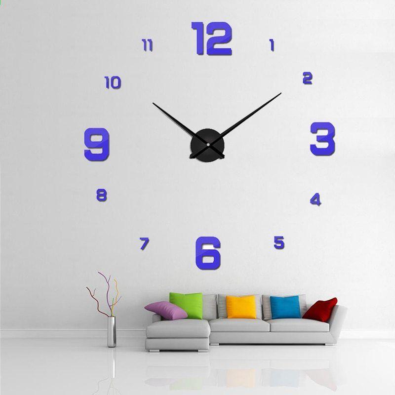 orologio da parete moderno, design sole e luna, idea regalo. Orologio Da Parete Orologio Al Quarzo Reloj De Pared Design Moderno Grandi Orologi Decorativi Adesivi Acri Large Decorative Clocks Home Decor Home Decor Decals