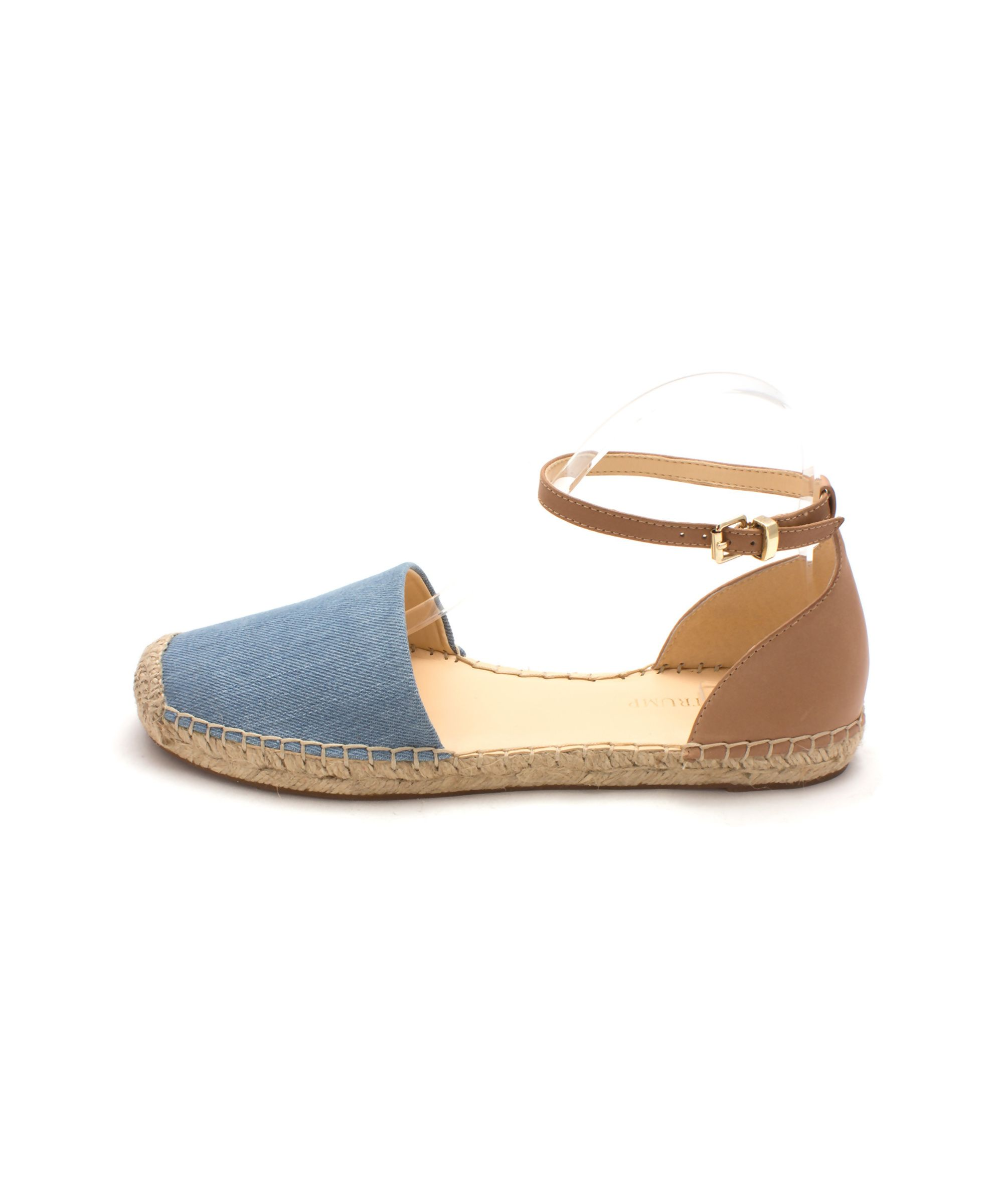 IVANKA TRUMP | Ivanka Trump Womens Vailea Leather Closed Toe Ankle Strap  Espadrille Flats #Shoes