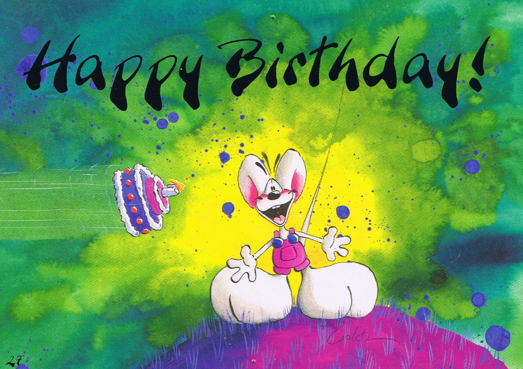 Happy Birthday Diddl Card | Diddl Maus | Pinterest | Mäuse ...