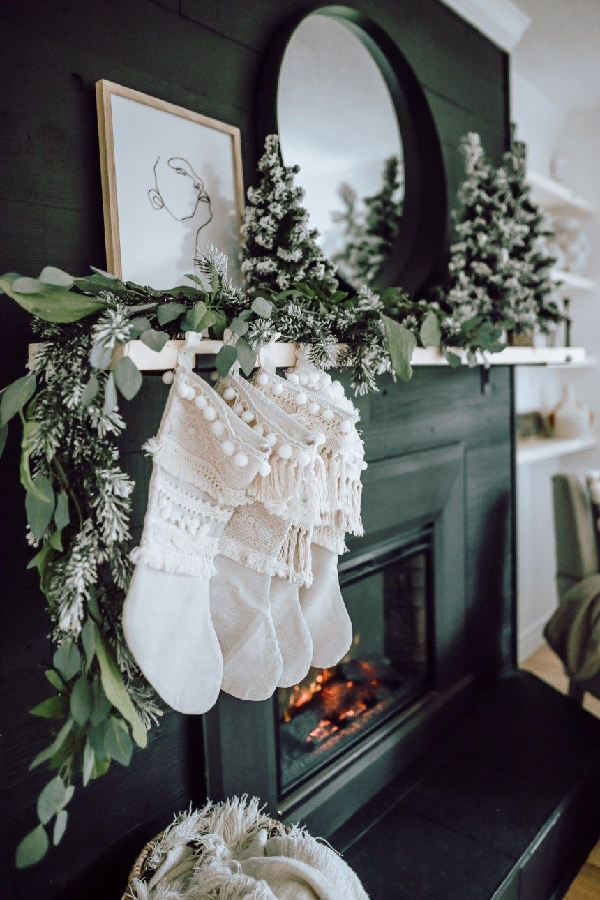 Photo of A Modern Christmas Living Room – New Ideas