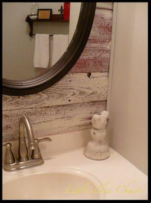 White-washed barnwood