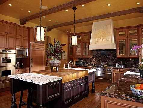 Luxury Kitchen Mine Will Be With Copper Accents  Millionaire Interesting Chef Kitchen Design Inspiration Design